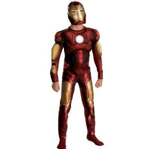 Lets Party By Disguise Inc Iron Man 2008 Movie Muscle Chest Child