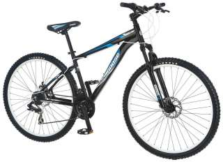 "Mongoose 29"" Men's Impasse HD Mountain Bike Bicycle   Black"