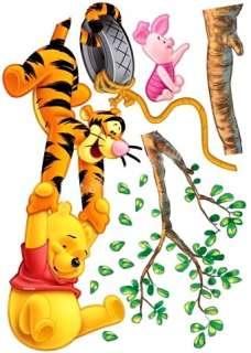 Winnie The Pooh Baby Nursery Room Wall Sticker Tiger