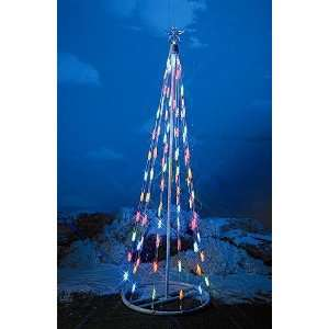 HomeBrite 4ft Multi Color Light Strand Christmas Tree