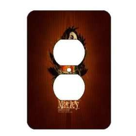 Bob Marley Light Switch Outlet Covers