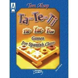 Tic Tac Toe Games for Spanish Class Book Teachers