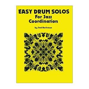 Easy Drum Solos For Jazz Coordination Musical Instruments
