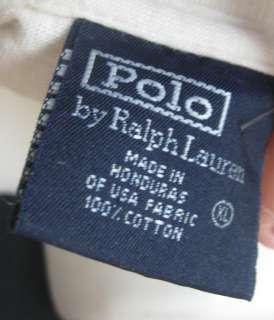 Polo Ralph LAuren mens cream short sleeve mining tee shirt top size XL