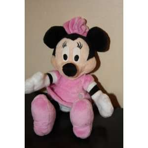 Disney Minnie Mouse Bean Bag Stuffed Character Toy