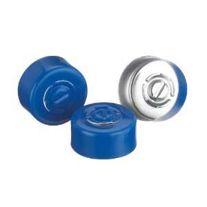 Wheaton 224182 05 Blue Aluminum Center Disc Tear Out Unlined Seal