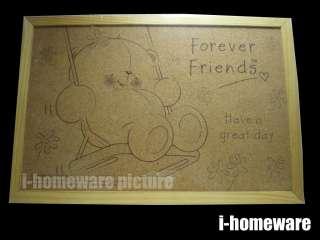 Forever Friends Hallmark Taxus Notice Pin Board ff