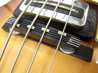 VINTAGE HOFNER 500/1 VIOLIN BEATLE BASS MADE IN GERMANY