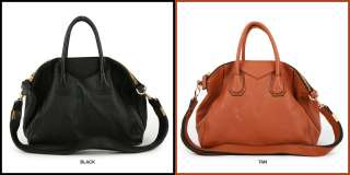 IN KOREA] NEW Genuine Leather Shoulder Tote Hand Bag Purse   TANITH