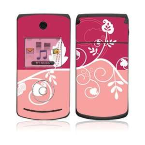 LG Chocolate 3 Skin   Pink Abstract Flower Everything