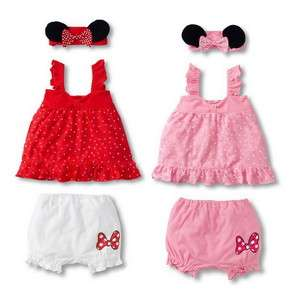 Girl Baby Ruffle Top+Pants+Headband Set 0 36M Bloomers Costume