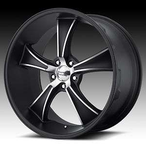 22 VN805 BLVD American Racing Wheels Rims Torq Chevy Ford Dodge