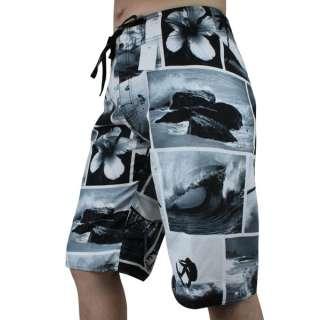 Mens Surf Board Shorts BoardShorts Boardies Gray SZ 30 32 34 36