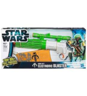 Star Wars Boba Fett Electronic Costume Prop Blaster *New*