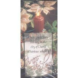 Christmas Offering Envelopes Christ the Lord (Pack of 75)