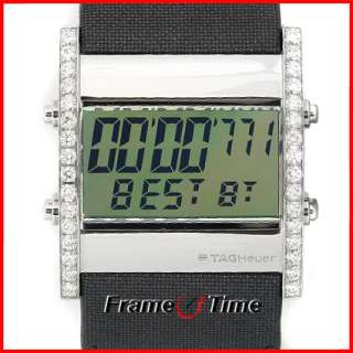 TAG HEUER Digital Formula 1 Mens / Ladies Diamond Watch