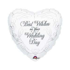 Wedding and Anniversary Balloons  Best Wishes Wedding Doves