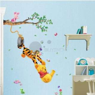 Wall Sticker Disney Winnie The Poohs partner Tree Baby Nursery Room