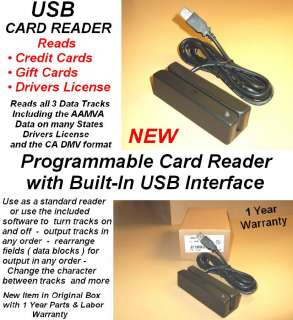 USB CREDIT CARD SWIPE READER MINI MAG SWIPER MACHINE