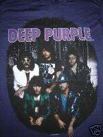 Vintage Concert T Shirt DEEP PURPLE 87 NEVER WORN WASH