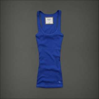 Abercrombie & Fitch by Hollister womens Classic Race Back Tank Top T