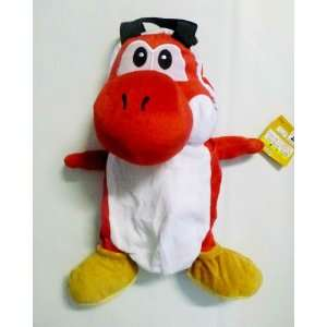 Nintendo Super Mario Yoshi RED Plush Backpack