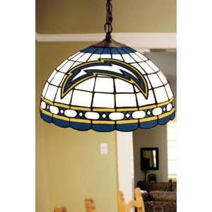 Team Logo Hanging Lamp 16hx16l Sandiego Chargr: Home