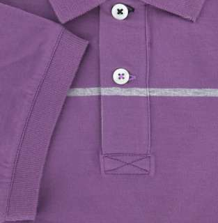 New $460 Brunello Cucinelli Purple Polo Medium