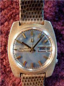 Vintage Bulova Accutron 14K Solid Gold Mens Watch Tuning Fork