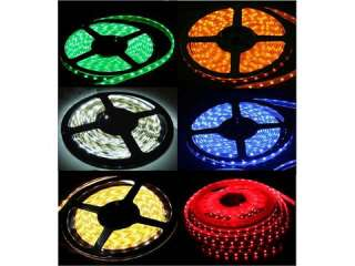 300 LED 3528 SMD Car Motorcycle Home DIY Strip Light Waterproof