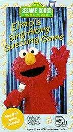 Sesame Street   Elmos Sing Along Guessing Game VHS