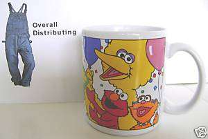 Sesame Street 25 Wonderful Years Coffee Mug Cup