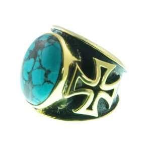 331 12 Maltese Cross Ring Organic / Silver Jewelry of Bali