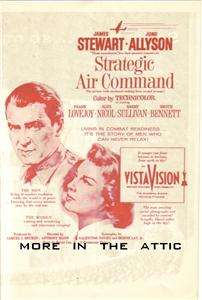JAMES JIMMY STEWART ANTHONY MANN STRATEGIC AIR COMMAND ORIG US MOVIE