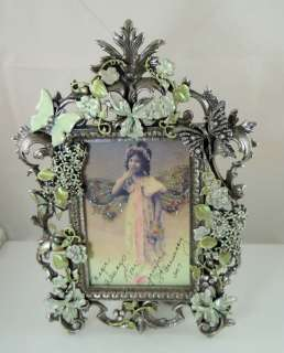 Kirks Folly Butterfly Kisses 15th Anniv. Photo Frame