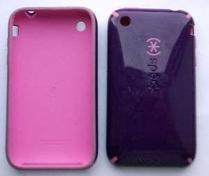 Speck CandyShell Case Apple iPhone 3g 3 Purple Pink