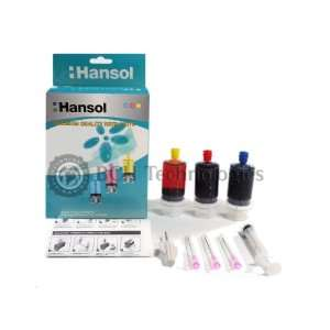 Refill Kit for Canon BC 05 Color Inkjet Cartridges: Office Products