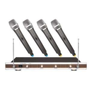 GTD Audio J 04 VHF Wireless Microphone System Musical Instruments