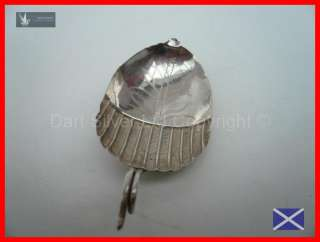 III Acorn Design Sterling Silver Tea Caddy Spoon HM 1800, John Turner