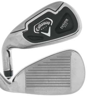 CALLAWAY FUSION WIDE SOLE IRONS 3 PW (8PC) GRAPHITE REGULAR LH 2
