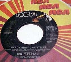 Dolly Parton (45) RCA 13361 Hard Candy Christmas