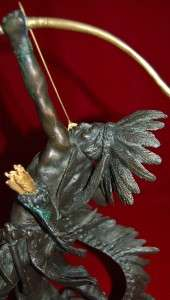 STARSHOOTER BRONZE SCULPTURE BY LINCOLN FOX MAGNIFICENT PIECE 15