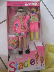 1991 LITTLE SISTER OF BARBIE STACIE DOLL NEW IN BOX
