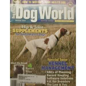 Dog World Magazine March 2003 Pointer: Dog World: Books