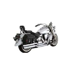 Shots Exhaust System for 1999 2008 Yamaha Road Star 1700/1600 Models