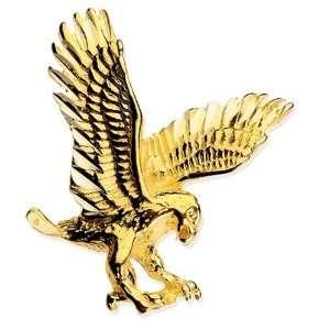 Stamper 10K Black Hills Solid Gold Eagle Tie Tac. TACEGL