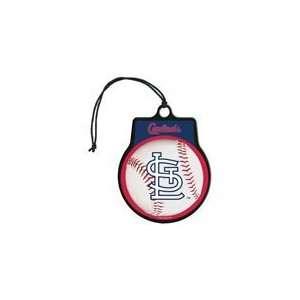MLB Licensed Team Logo Air Freshener Vanilla Scent  St Louis Cardinals