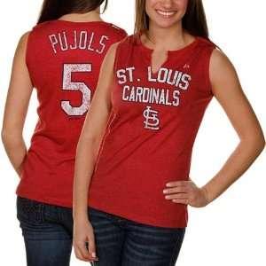 Albert Pujols Womens St. Louis Cardinals Hey Batter Player T Shirt
