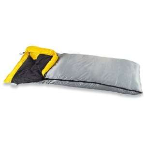 Guide Gear 14 Degree Down Rectangle Bag Gray Shell Yellow