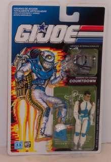 Joe 1990 Countdown MOC Spanish Card